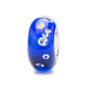 beads diamante blu