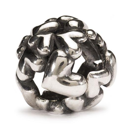 beads pallina di cuori