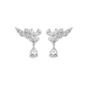 orecchini farfalla argento comete gioielli