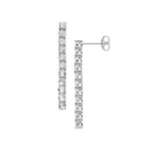 orecchini pendenti argento comete gioielli