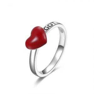 anello rosato cuore storie